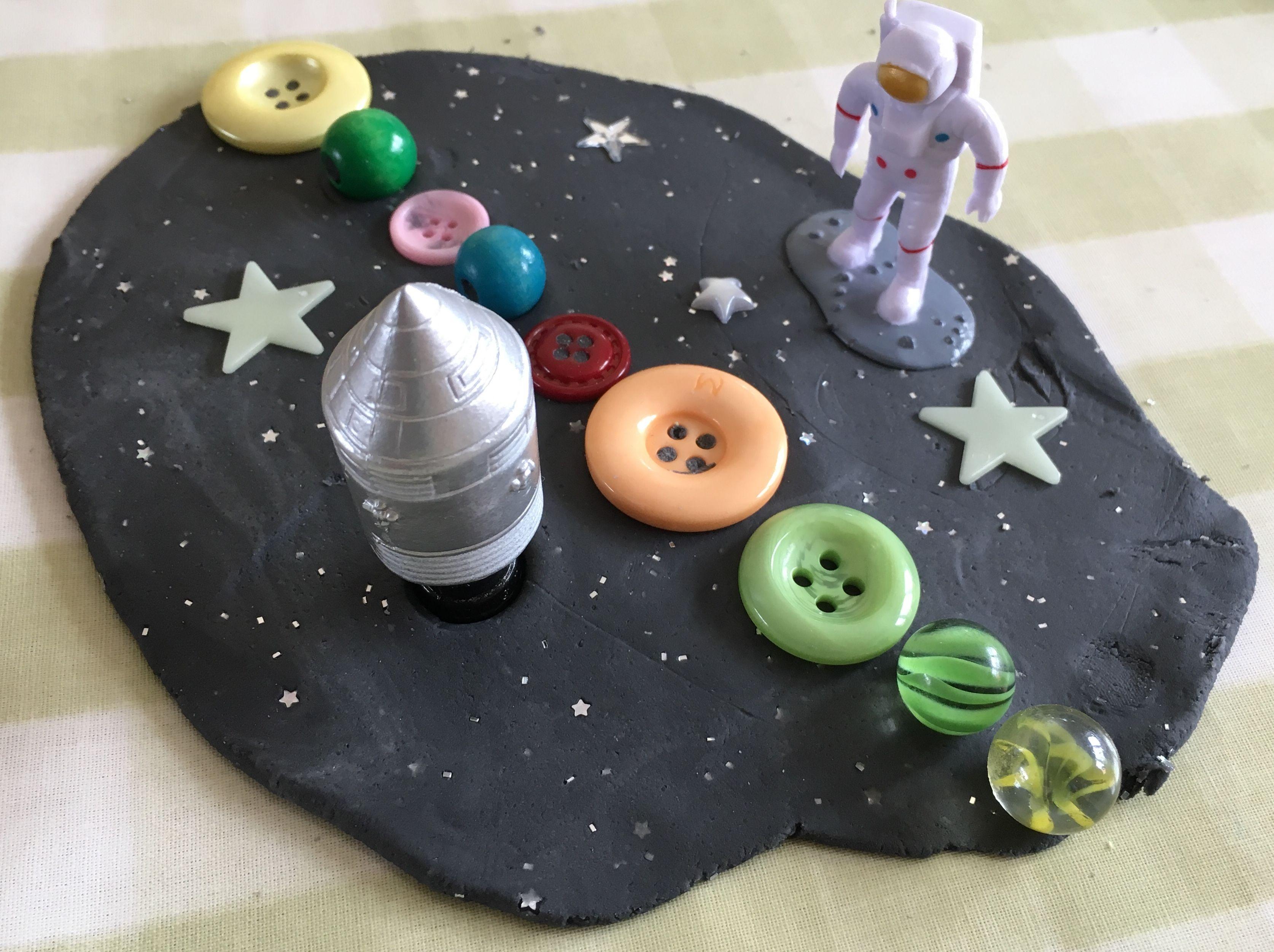 Space Play Dough Kit Etsy Playdough kits, Playdough