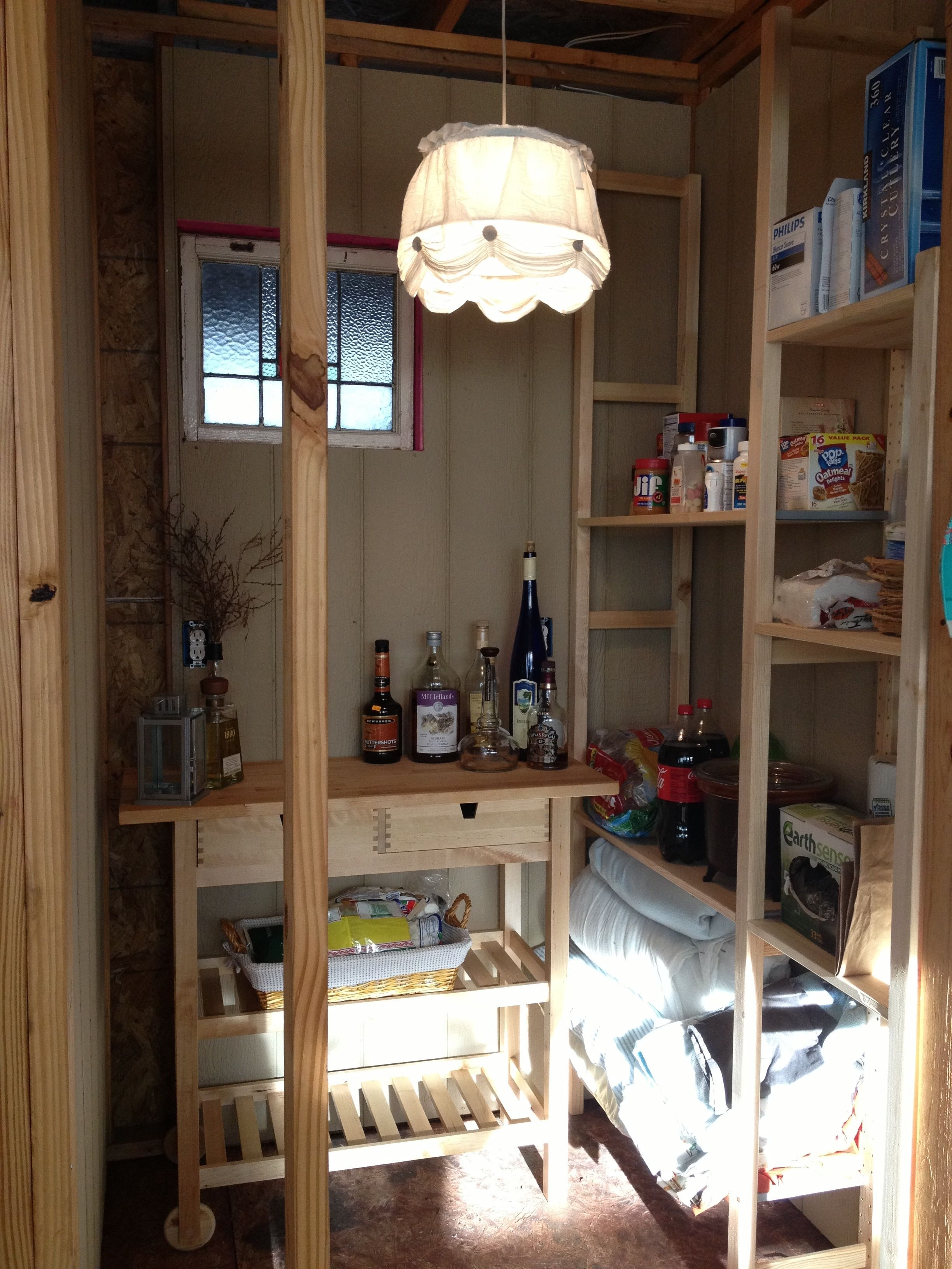easy to run an ikea hanging light with an extension cord in the ...
