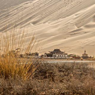 Cina, Mongolia Interna, Deserto di Badain Jaran  Fotografia: Pierre Jaccard