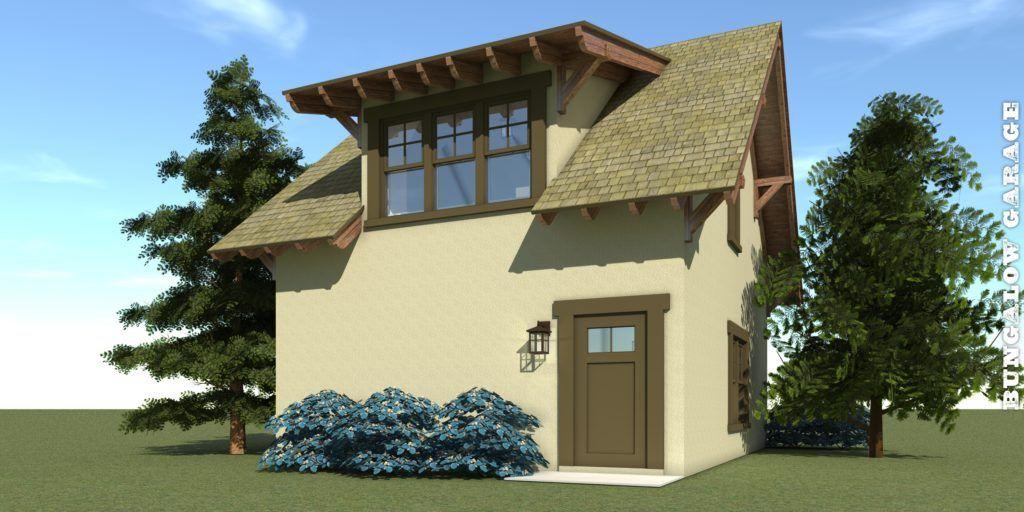 Craftsman Garage Apartment. 2 Car Garage in 2020