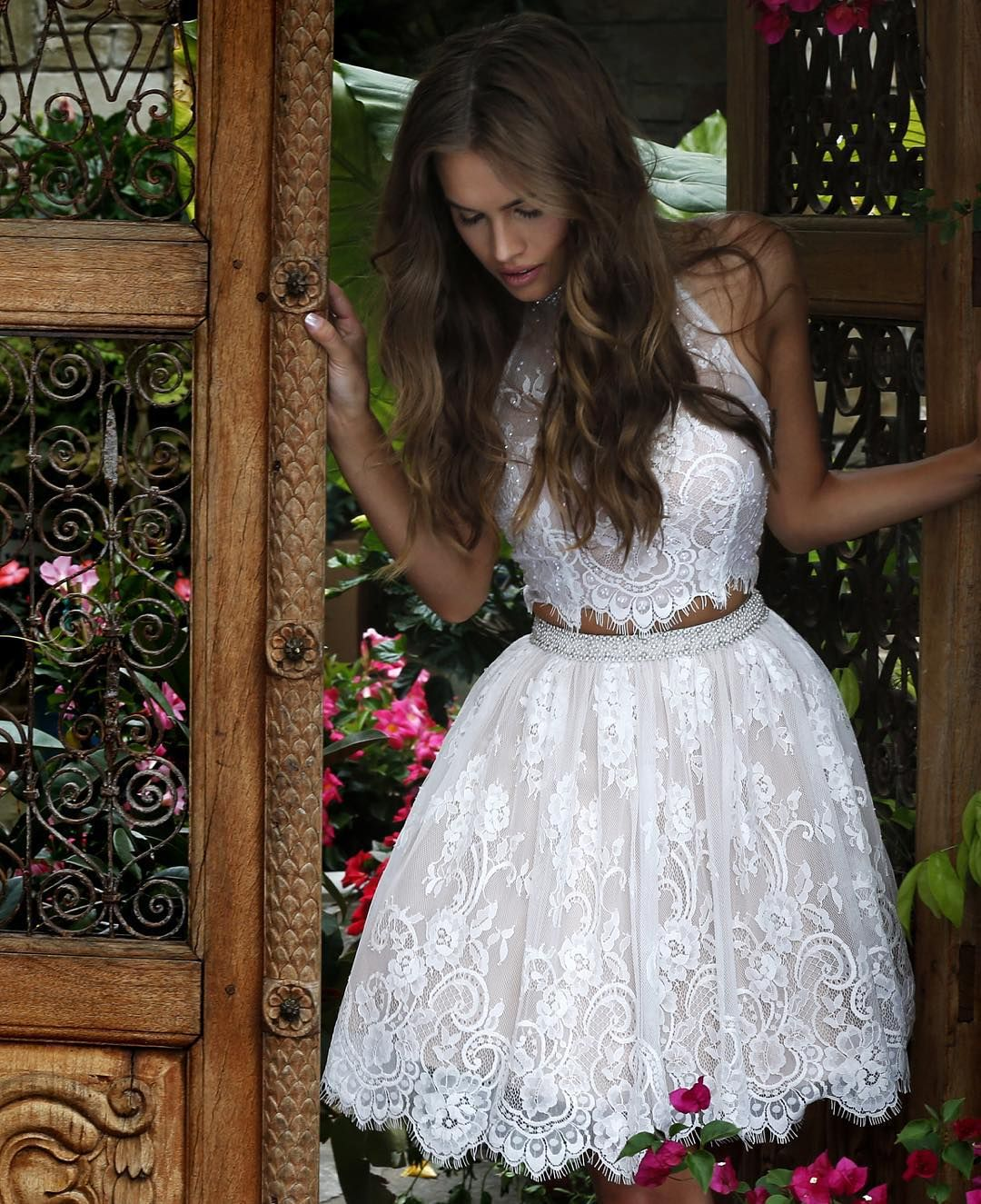 All about that lace style ssud new sherri hill dress