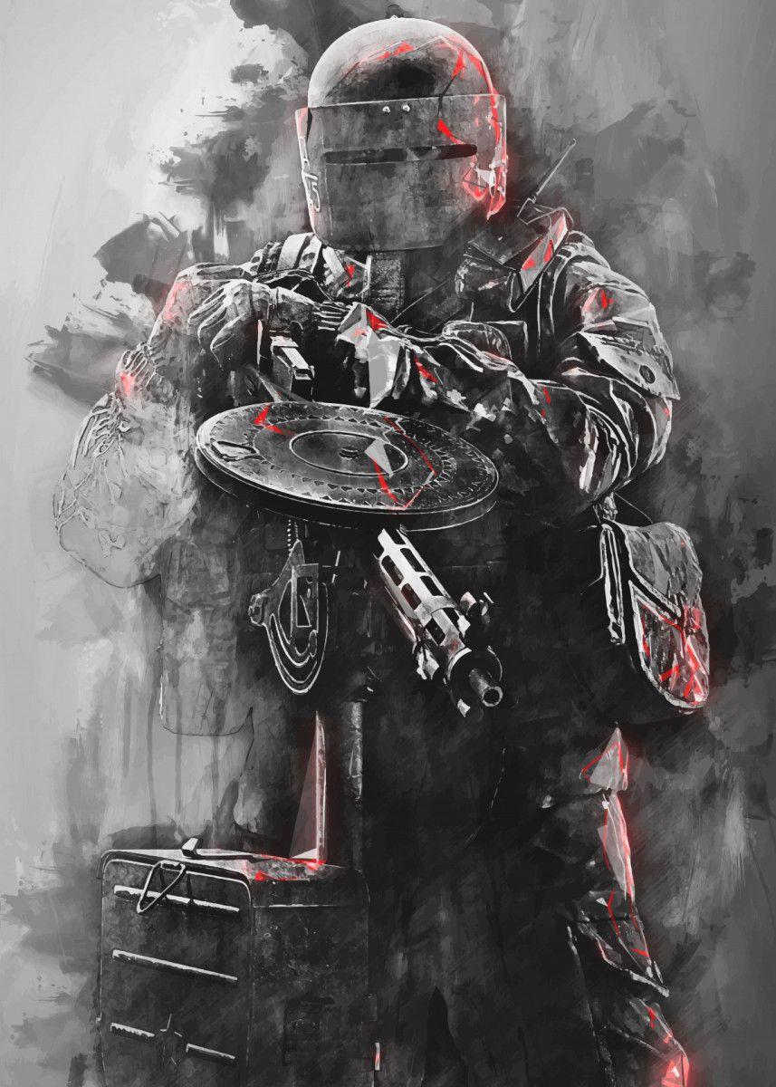 rainbow six siege charcoal operators