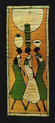A Batik I - Setsinala | Art Print Poster