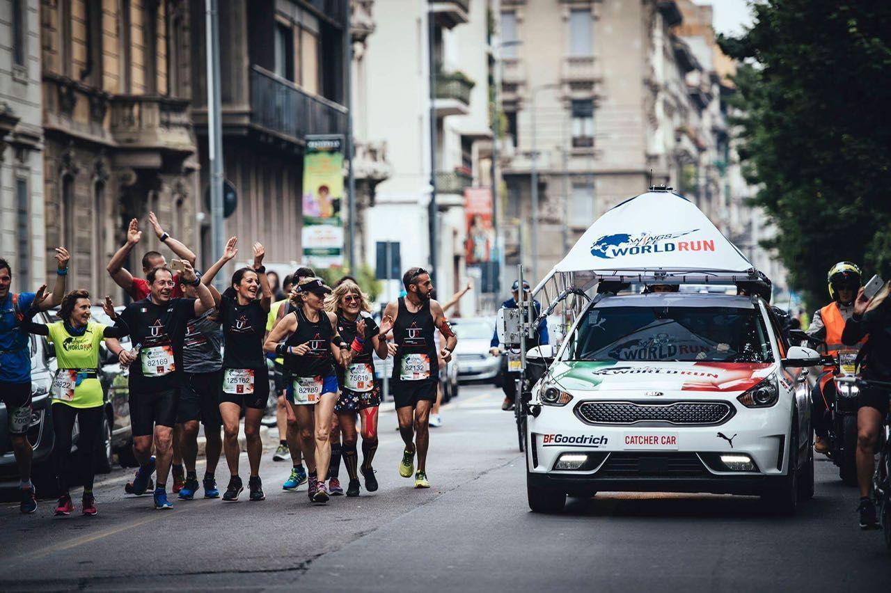 Running: alla corte di Re Giorgio…Calcaterra
