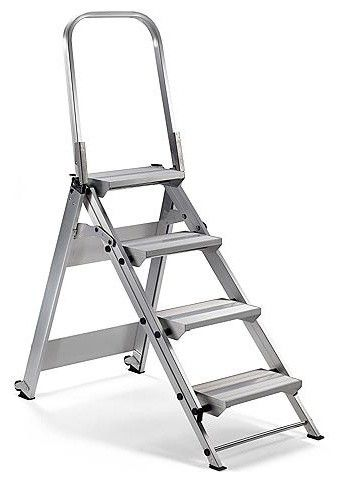 4 Step Safety Ladder Frontgate Traditional Indoor 400 x 300