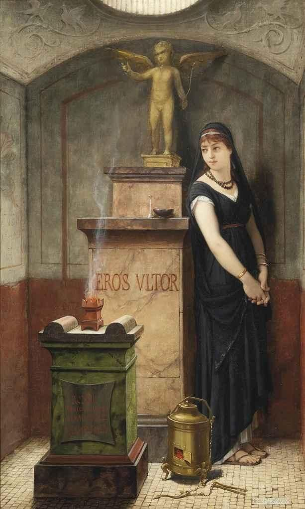 Louis Hector Leroux, An allegory of vengeful love