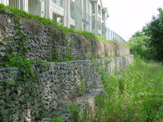 unbelievable curved gabion wall. Gabion Baskets Gravity Walls  Fence Me In Pinterest