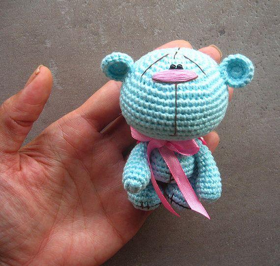 Amigurumi crochet bear pattern, PDF pattern, ENGLISH language ...