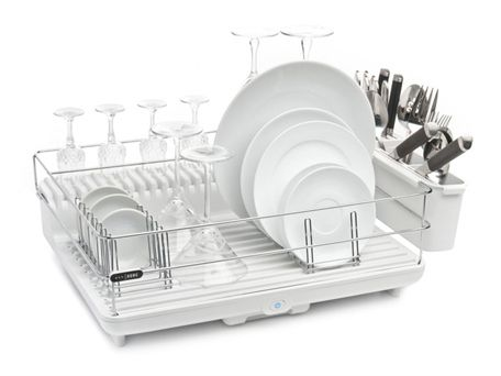 Heat & Dry Dish Rack. Too cool and cheaper to use then the dish washer for a family of 3.