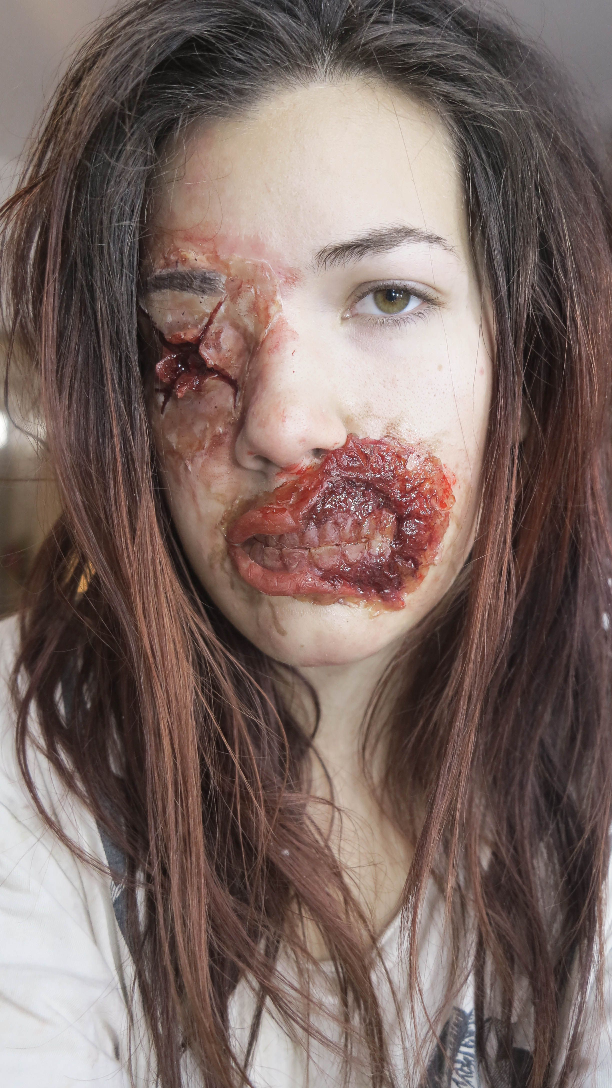 SFX makeup Prothèses de zombie  MUA: Morgane Hertzog https://www.facebook.com/MorganehMUA