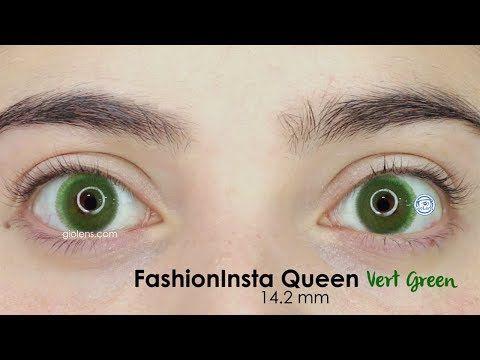 Pupilentes FashionInsta Queen 14.2 mm - YouTube