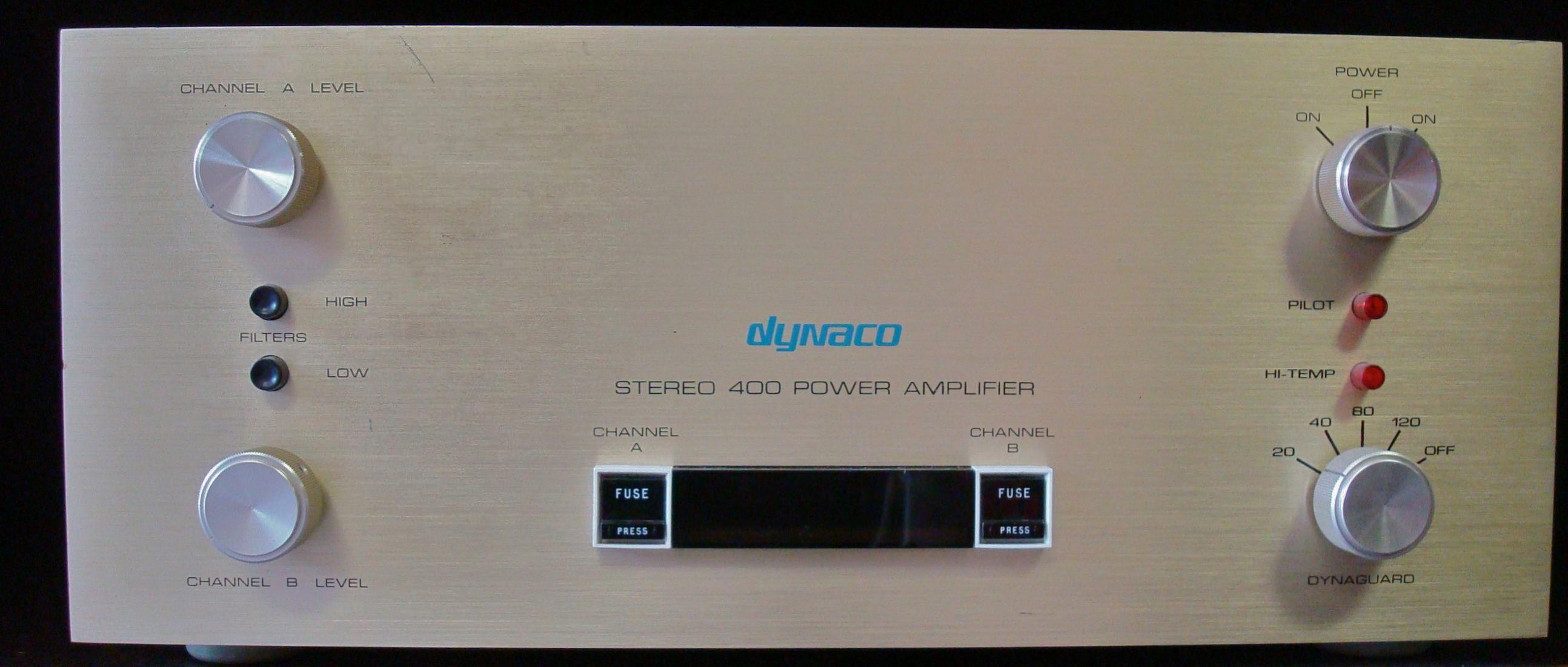 Dynaco Stereo 400, a popular DIY kit  | sound | Diy kits