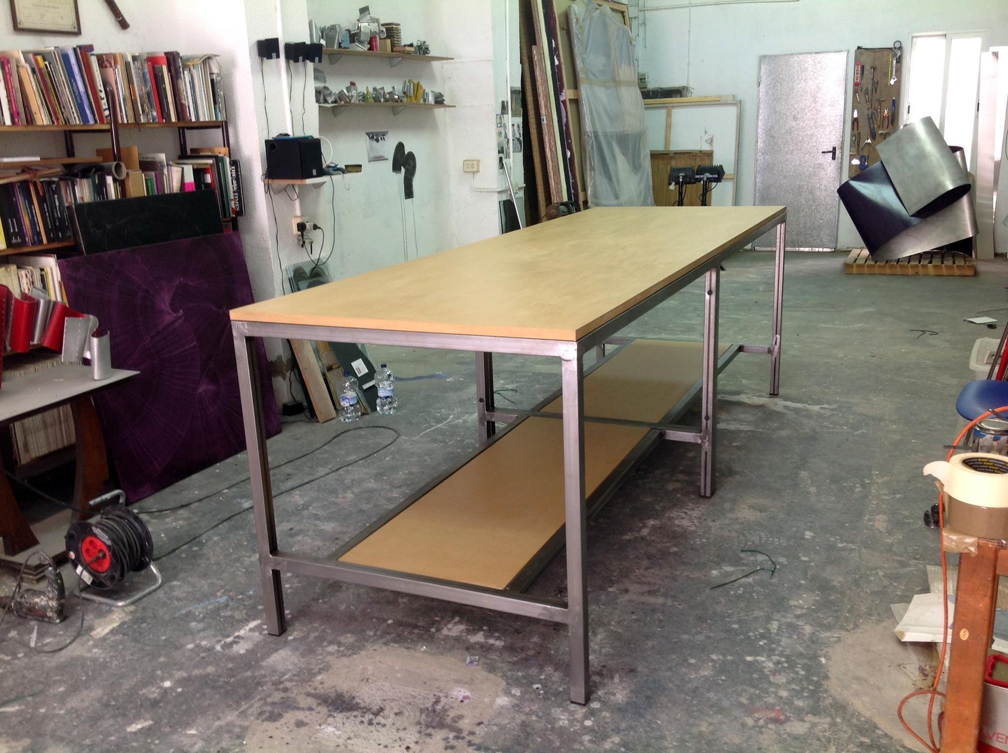Mesa Eme De Moix Banco De Trabajo Para Estudio De Artista En La  # Muebles Cumelen