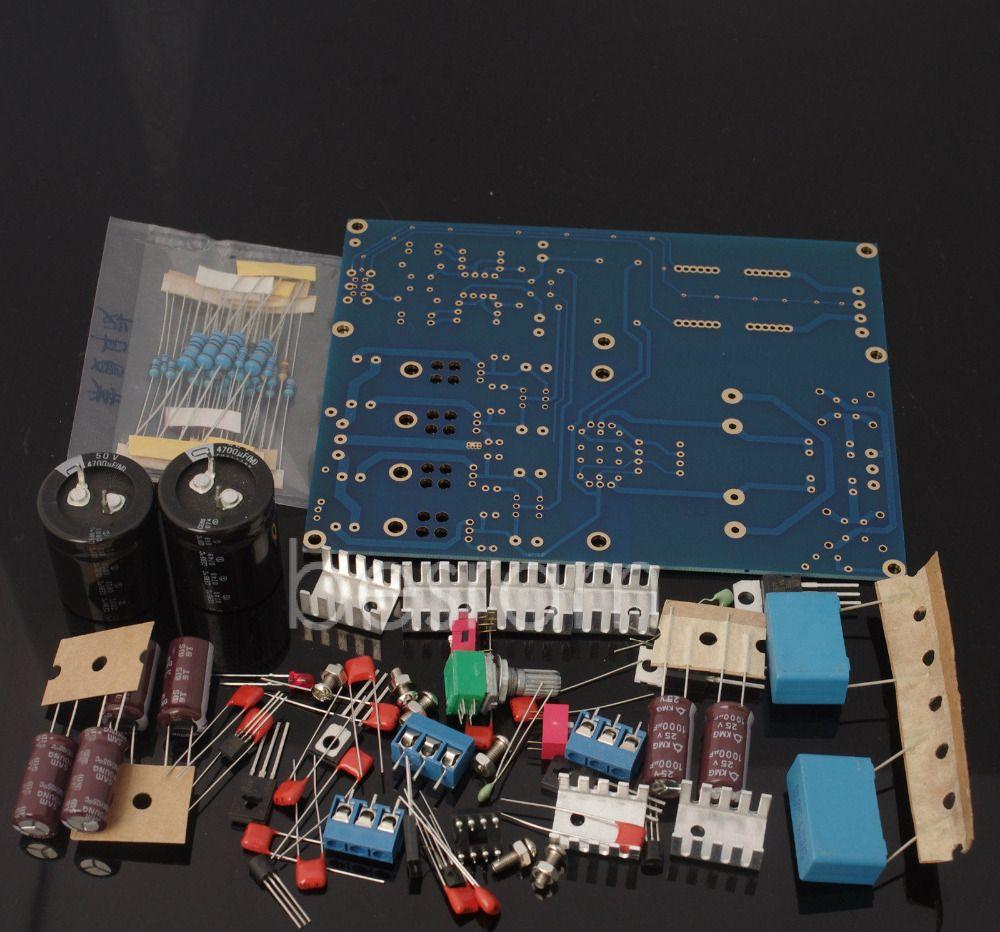 New Headphone Amplifier Board Reference Lehmann Circuit Design Kit Head Phone Ac 15v 0
