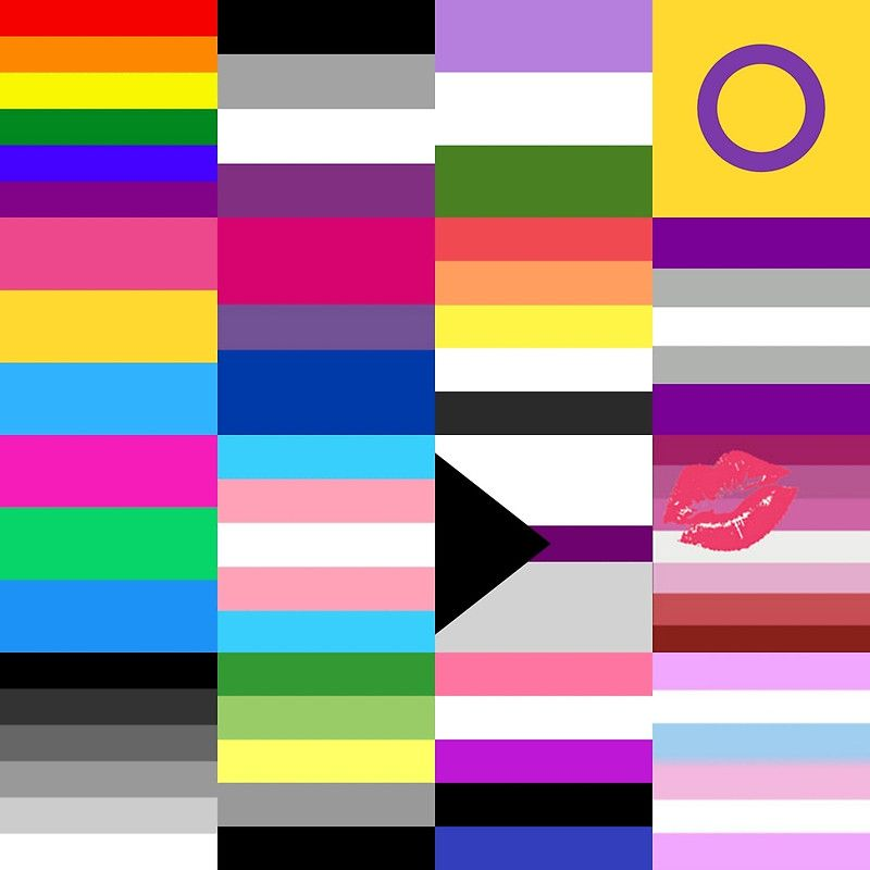 Pin by LGBTQ+ Page on LGBTQ+ Flags | Pinterest | Bisexual ...