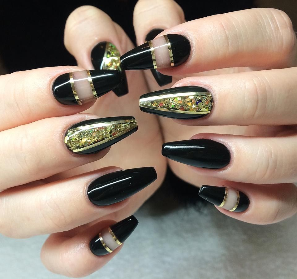 Gold For Prom Nail Ideas: Pin By Tatyana Rodiideal On ногти
