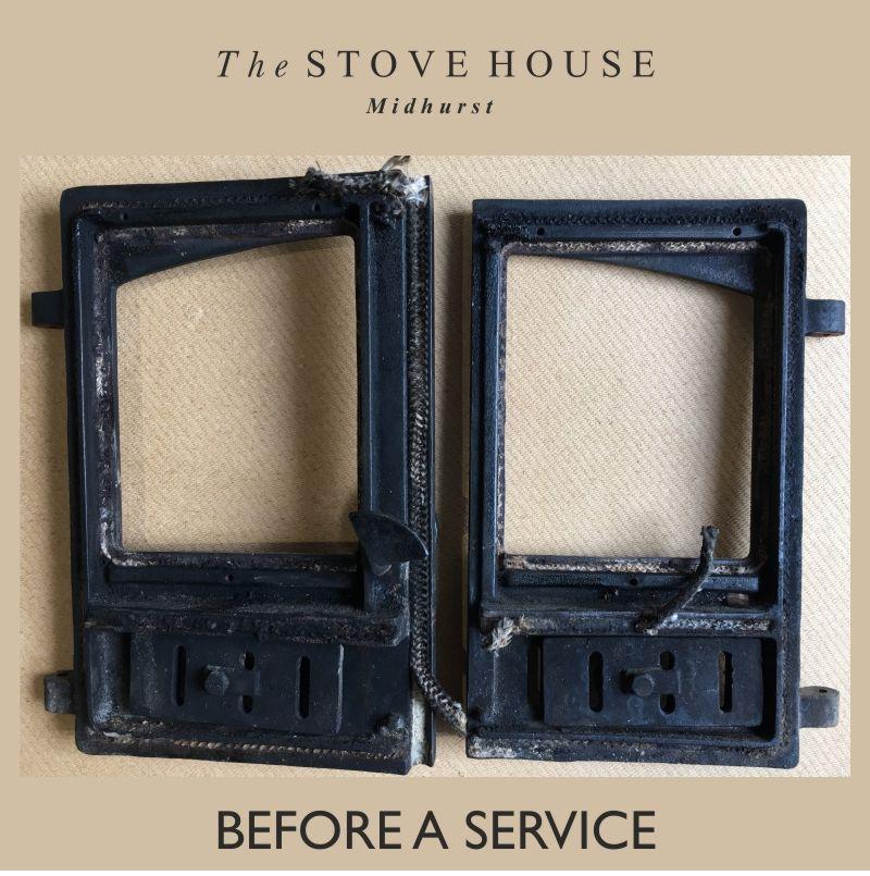 Wood Burning Stove Door Servicing Wood Burning Stove Sealing Wood Stove Installation
