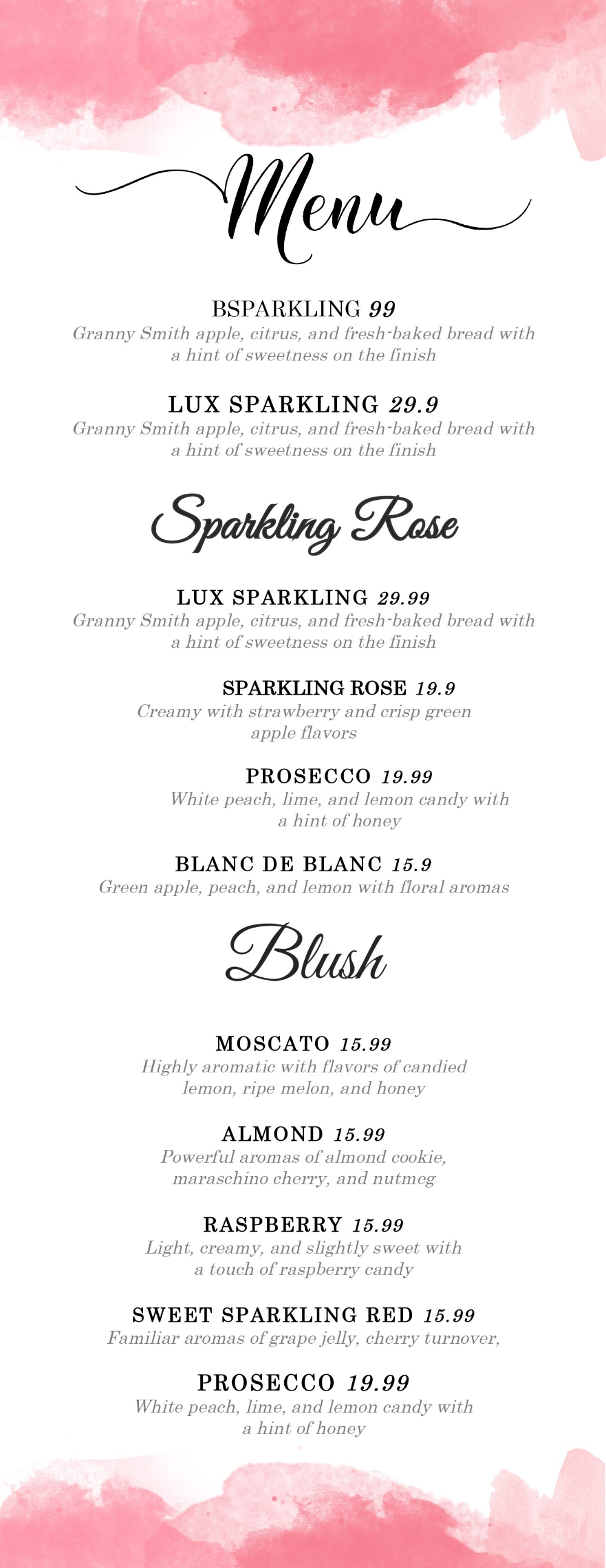 Design Templates Menu Templates Wedding Menu Food Menu Bar With Regard To Wedding Menu Templates Free Download - 10+ Professional Templates Ideas | 10+ Professional Templates Ideas #weddingmenutemplate