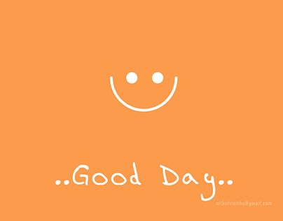 """Check out new work on my @Behance portfolio: """"Good Day:)"""" http://be.net/gallery/37589407/Good-Day)"""
