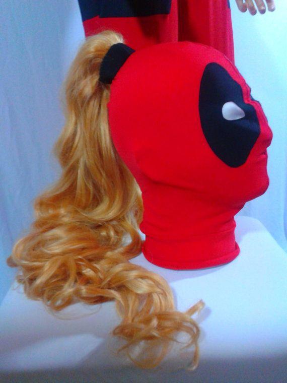 Deadpool Lady mask
