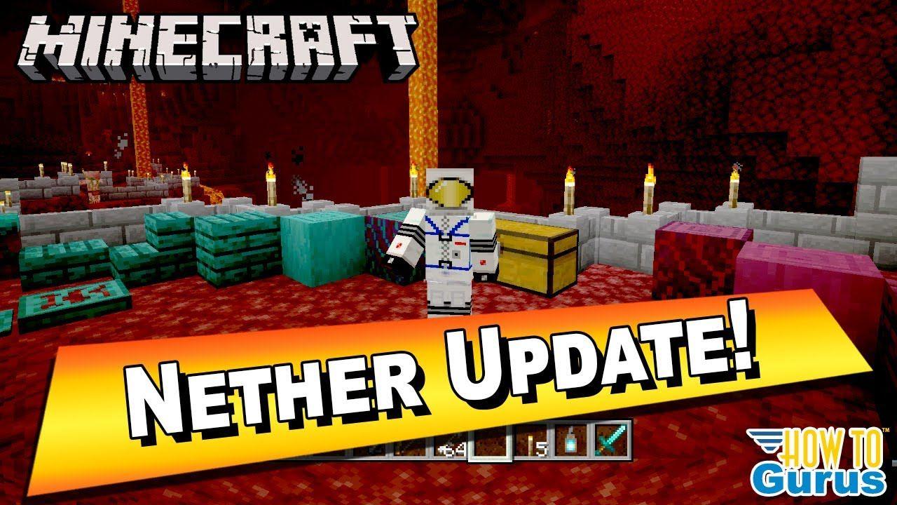 Minecraft Update 2020 Nether Snapshot 20w06a New 1.16