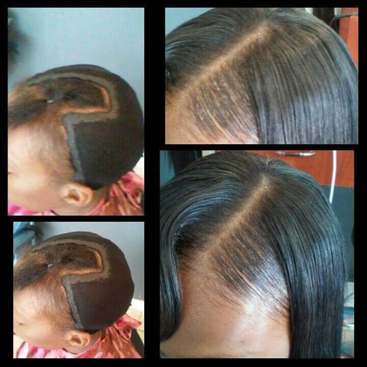 Quick Weave Foundation Hair Dos Pinterest Quick Weave Hair
