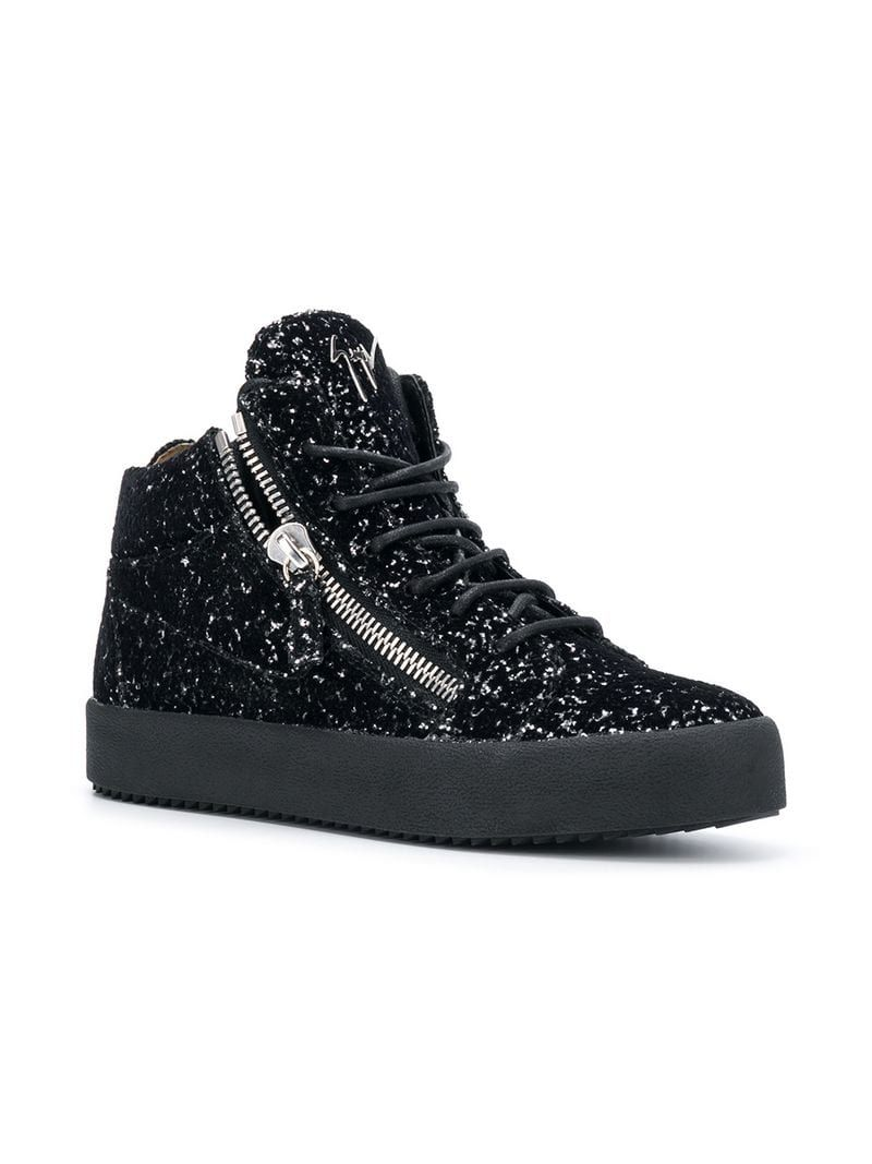 16827457286ca GIUSEPPE ZANOTTI KRISS GLITTER SNEAKERS | shoes in 2019 | Sneakers ...