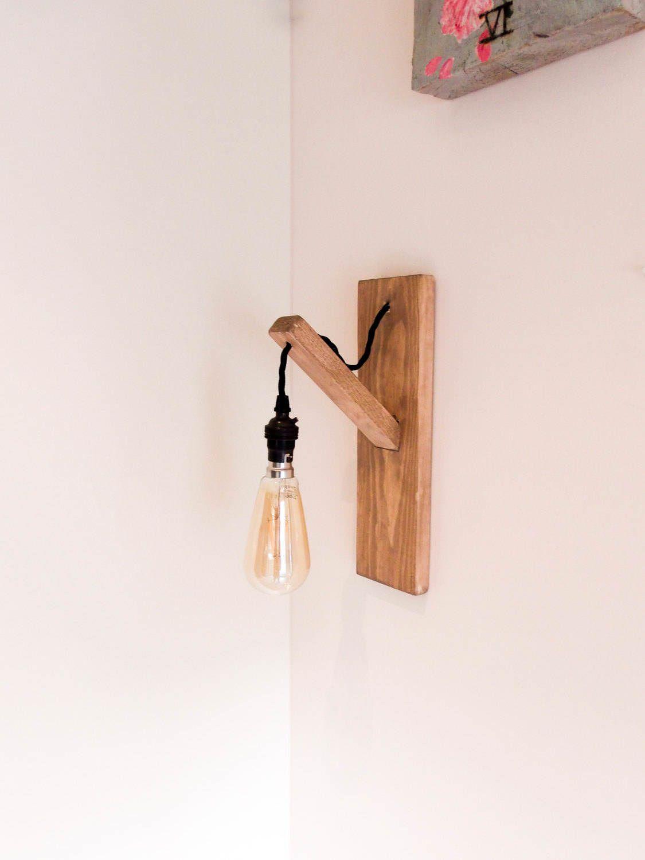 Scandinavian style design wall light idea pinterest