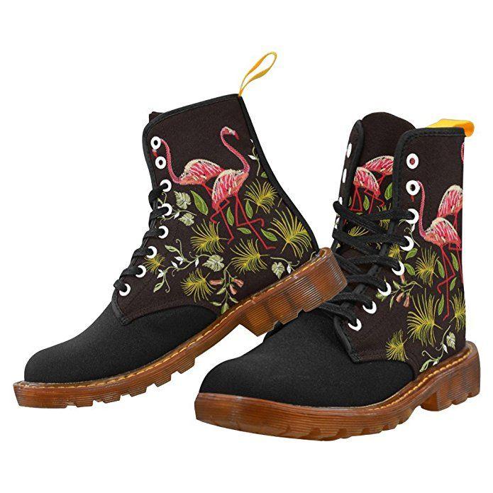 5f70d233b4842 Amazon - UNIQUE DEBORA Women's Lace Up Black Ankle Boots with ...