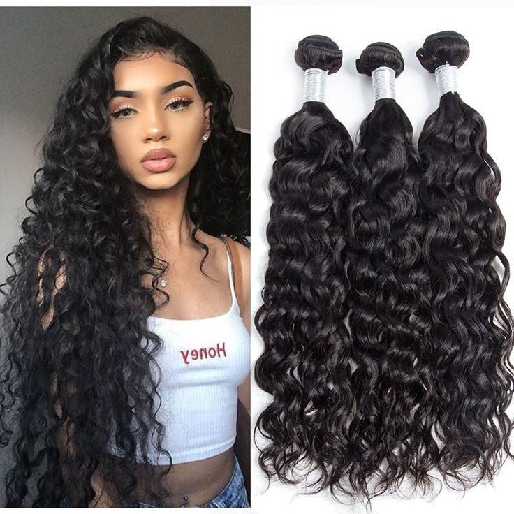 Hair 3 Bundles Wet And Wavy Brazilian Water Wave Virgin Human Hair Weave Extensions Hair 3 Bundles Wet And Wavy Brazilian Water Wave Virgin Human Hair Weave Extensions