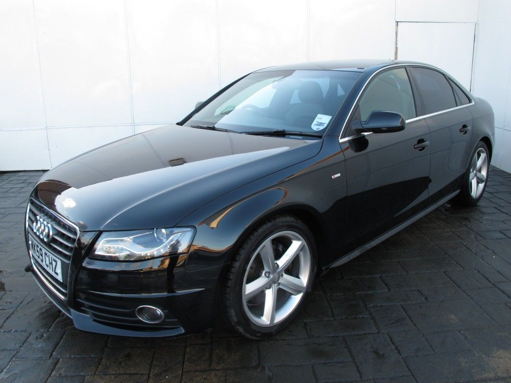 Pics Of Audi Four Door Cars 2009 59 Reg A4 2 0 Tdi S Line 4 Saloon Used Car For