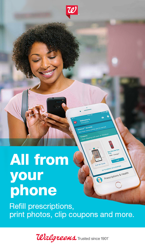 Make life easier with the Walgreens app. Refill