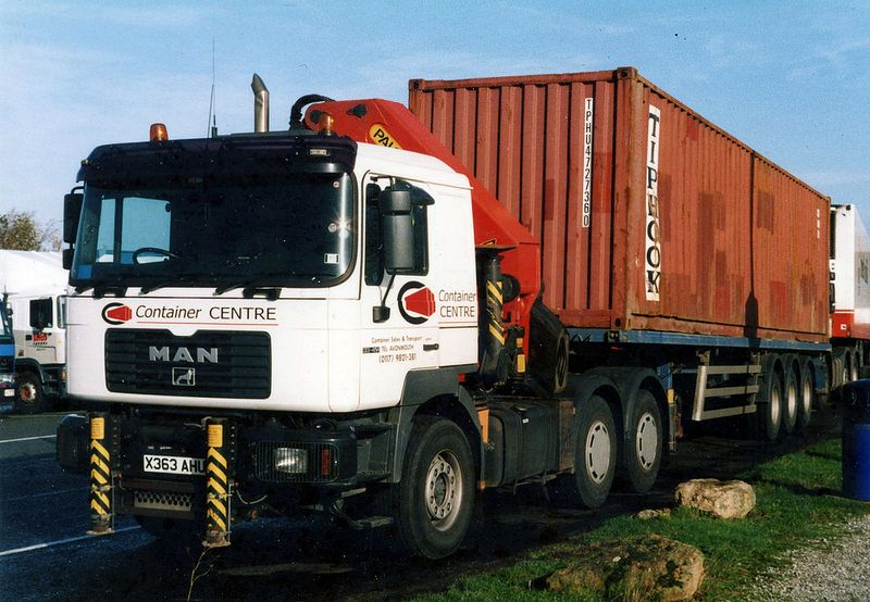 MAN truck, Container Centre, Avonmouth | by brizzle born and bred