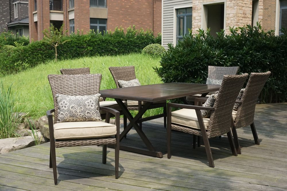 Thousand Oaks 7 Piece Patio Dining Set