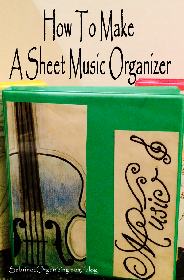 How To Make A Sheet Music Organizer Sheet Music 71 Toes