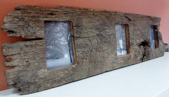 1860's+Barn+Wood+Knotty+Picture+Frame+fits+by+BuildingaBetterWorld,+$45.00