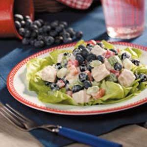 Summer Salads- Blueberry Chicken