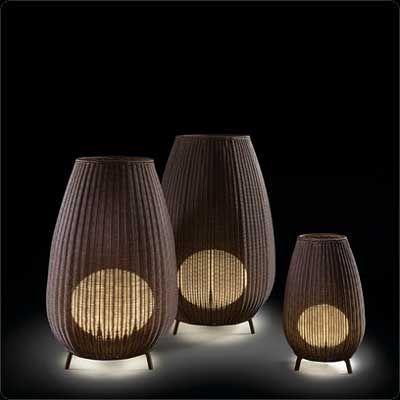 L Anfora Rattan Amphoren Lounge.Amphora Outdoor Floor Lamp By Bover 0233003u P745 In 2020