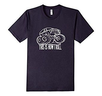 This Is How I Roll - #MonsterTruck #ad #tshirt