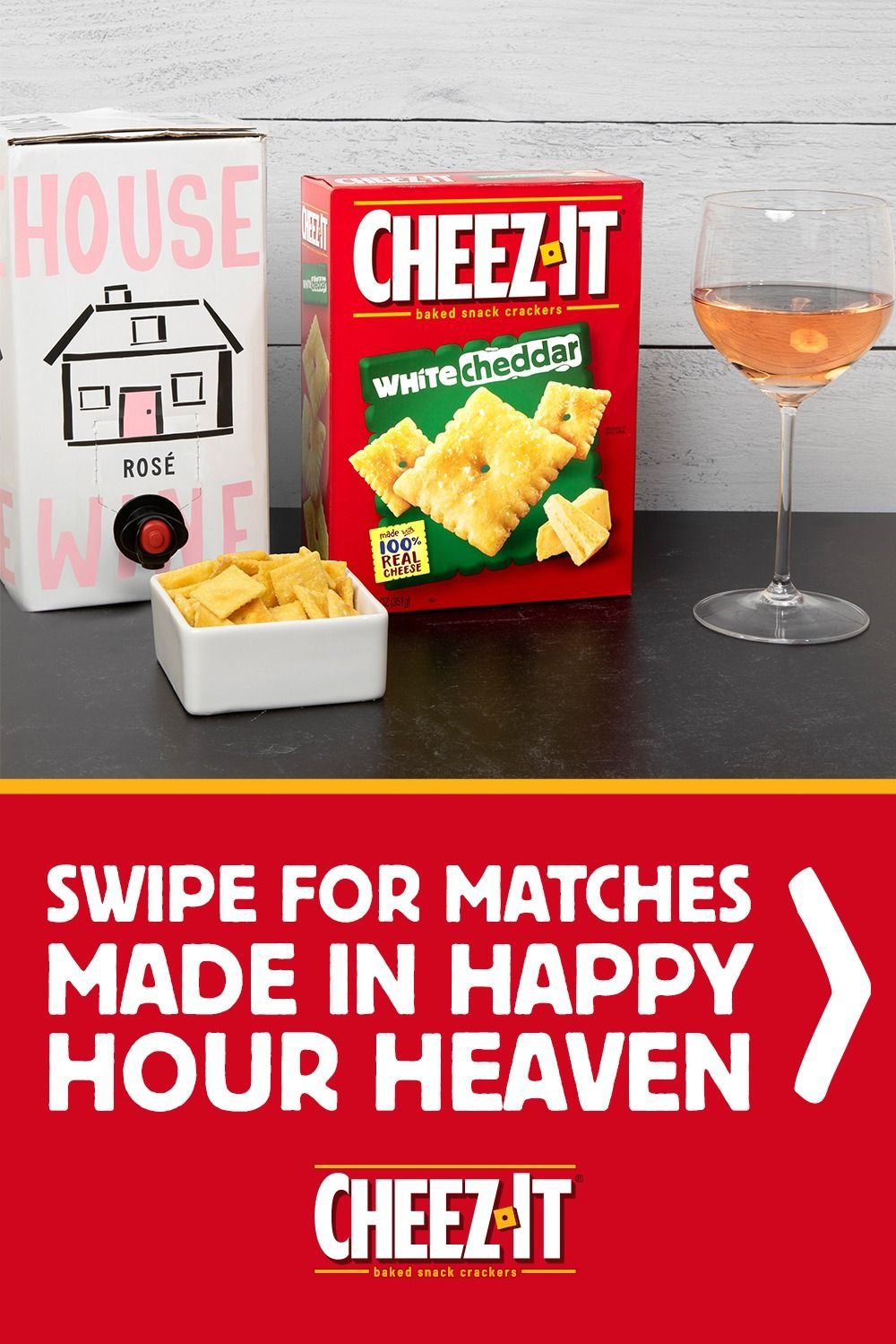 Cracker Matchmaker Cheez It Wine In 2020 Chinese Cooking Wine Snacks Drinks Alcohol Recipes