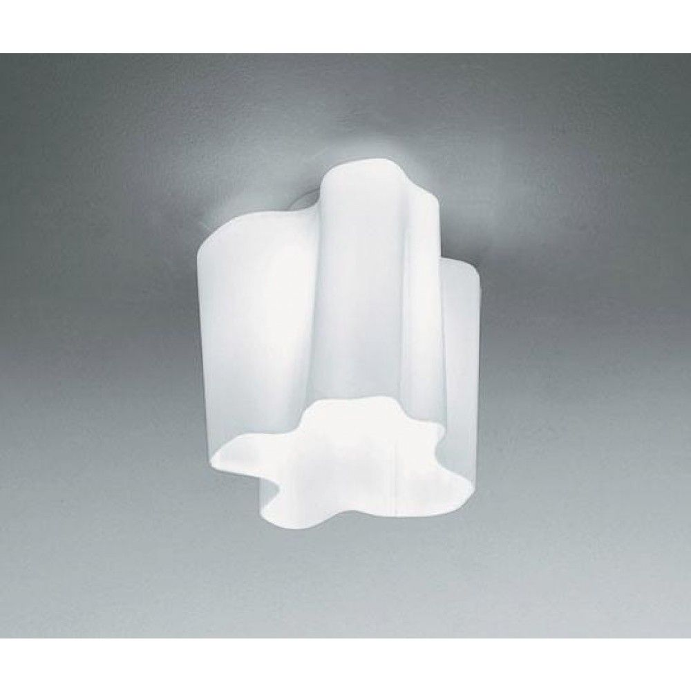 Artemide Logico ceiling lamp white glass 0387020A