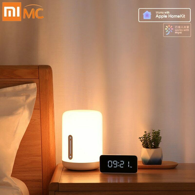 Xiaomi Lampe De Chevet 2 Smart Table Lumiere Led Mi Maison App