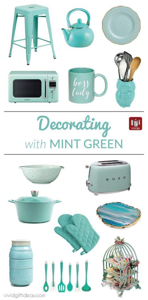An Adventure In Mint Green Mint Green Kitchen Green Kitchen