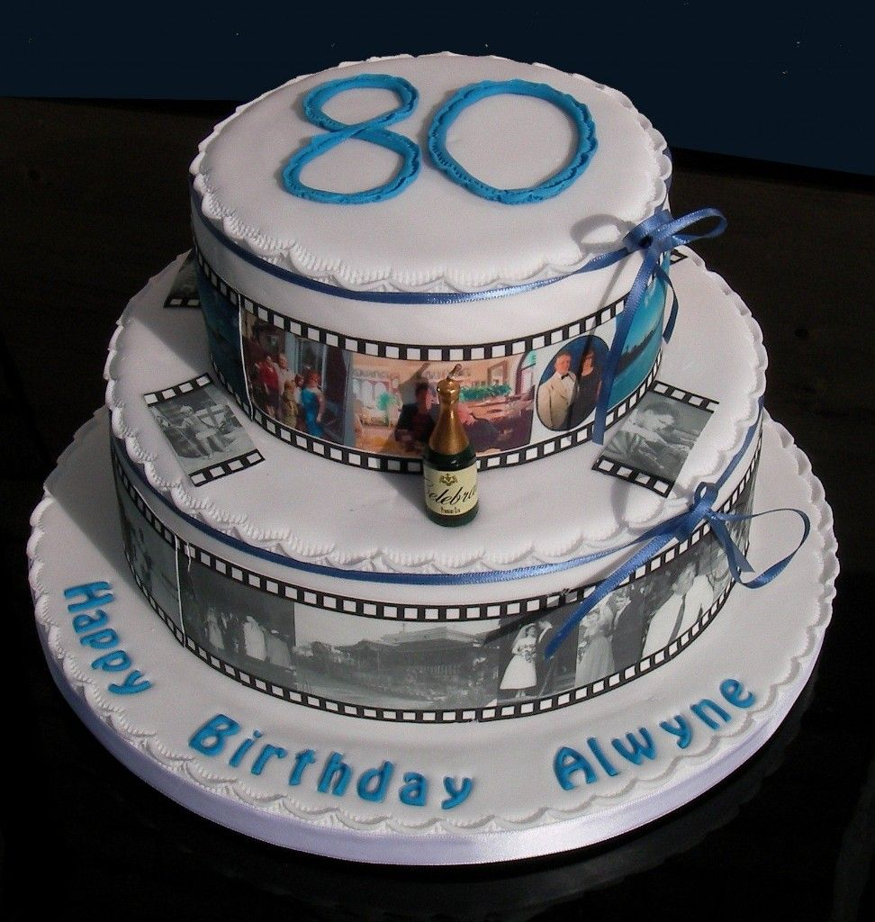 80th Birthday Cake Ideas For Men
