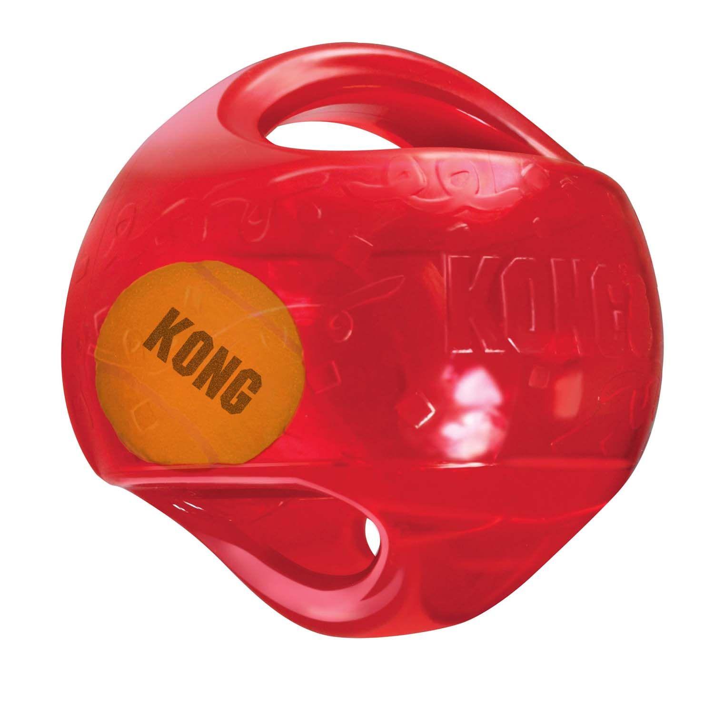 Kong Jumbler Ball Dog Toy Large Assorted In 2020 Kong Dog Toys