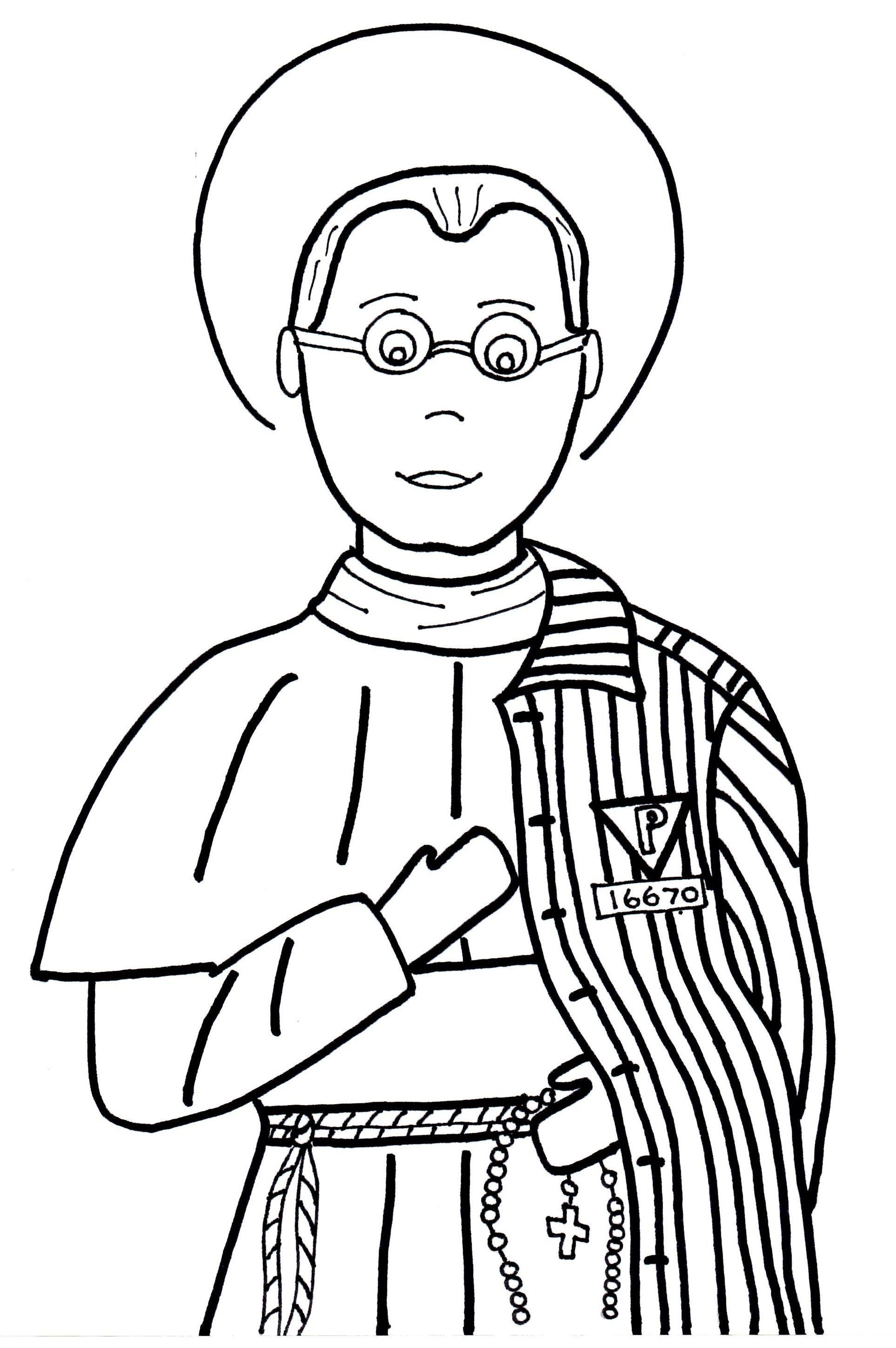 Obrazki Do Kolorowania Katecheza Wedlug Natana Saint Coloring Catholic Crafts Catholic Kids