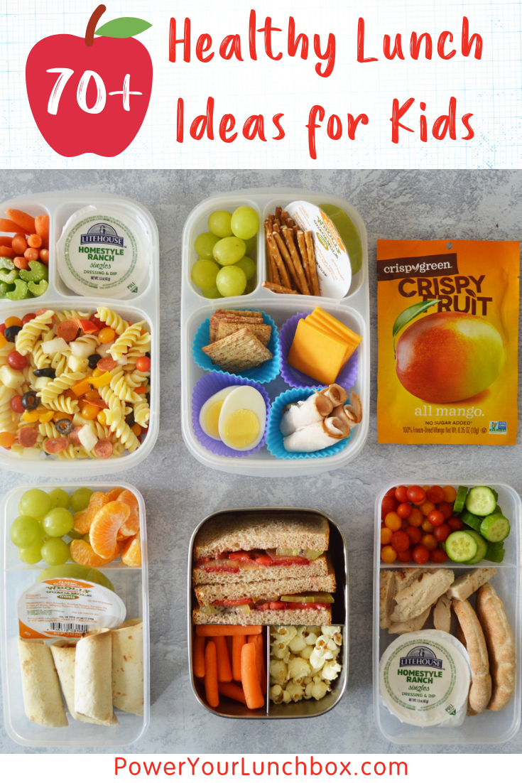70+ Healthy Lunchbox Ideas to Power Your Lunchbox | Produce for Kids