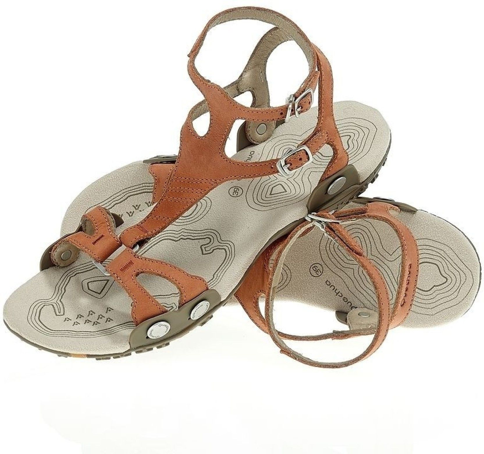 Womens sandals flipkart - Quechua Men Brown White Sandals Buy 42 Brown Color Quechua Men Brown