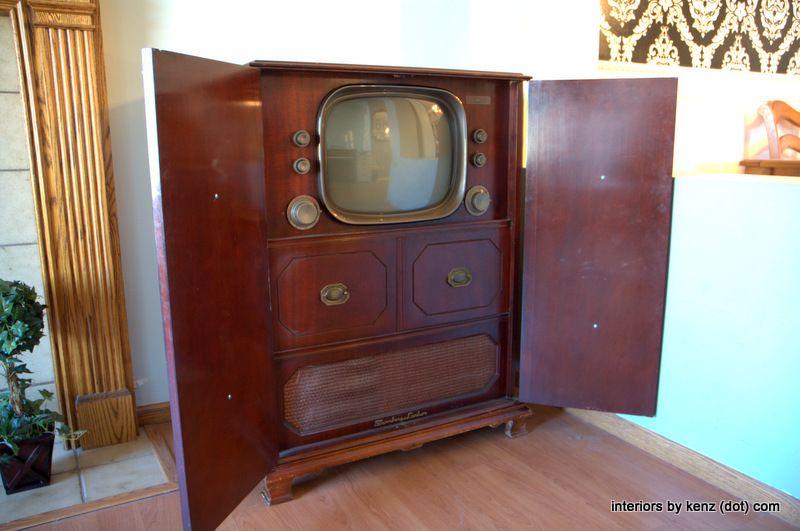timeless design 4da6a 6cb91 Furniture Whisperer | Old TV Sets | Antique tv stands ...