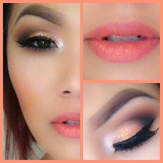 Summer Smokey Eye makeup Tutorial http://pinknpretty.net/summer-smokey-eye-tutorial/